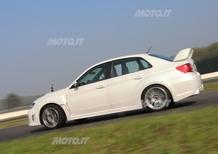 Subaru Impreza WRX STI in pista - Castelletto di Branduzzo - Automoto.it - Video