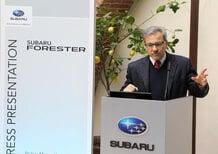 Armando Pachera, Subaru: «La nuova Forester sarà un'auto di conquista»