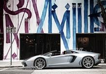 Pirelli P Zero per la Lamborghini Aventador Roadster