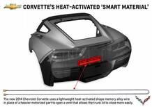 Corvette: la settima generazione impiega le leghe a memoria di forma
