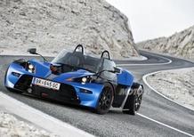 KTM X-Bow GT: finestrini e parabrezza per la quattro ruote austriaca