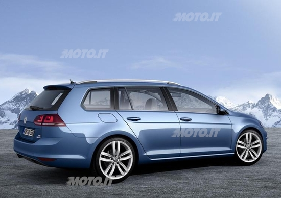 Nuova Volkswagen Golf Variant: ecco la station wagon