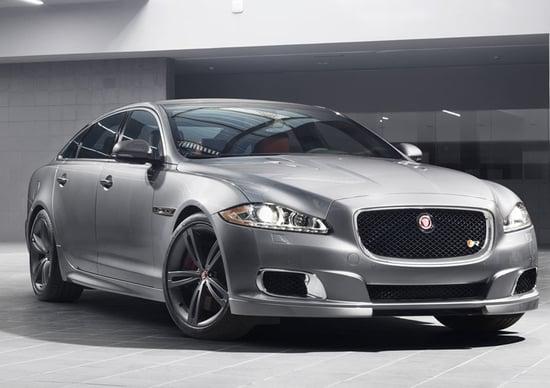 Jaguar XJR: la prima immagine ufficiale