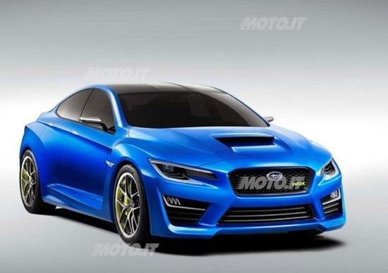 Subaru WRX concept