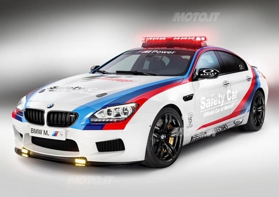 BMW M6 Gran Coupé: ecco la Safety Car della MotoGP 2013