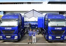 Iveco: 20 Stralis Hi-Way al Team Yamaha Factory Racing e a Dorna Sports