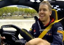 Sebastian Vettel: al volante di Renault Zoe, Twizy e Twizy F1 - Video