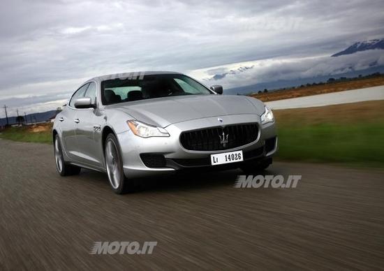 Nuova Maserati Quattroporte: sarà gommata ContiSportContact 5 P