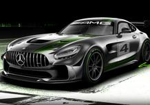 Mercedes AMG GT4, la GT R da corsa