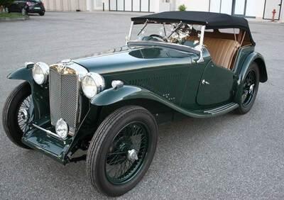 Ta Roadster d'epoca del 1937 a Viadana
