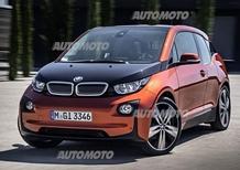 BMW i3: svelata la versione di serie