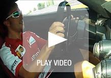 Alonso porta al limite LaFerrari sul circuito di Fiorano