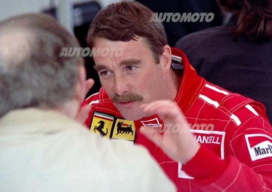 Nigel Mansell compie 60 anni. Auguri Leone!