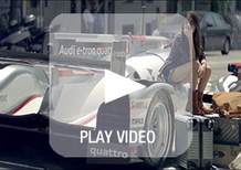 Audi RS6 Avant quattro. Secondo Ingolstadt è l'R18 e-tron quattro per l'uso quotidiano