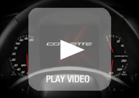 Corvette C7 Stingray: ecco il display digitale multifunzionale