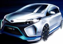Toyota Yaris Hybrid-R Concept: la prima immagine