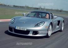 Porsche Carrera GT: arrivano le nuove  Michelin Pilot Super Sport