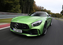 Mercedes AMG GT R, tempo record al Nürburgring: 7:10.9 [Video]