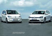 Volkswagen e-Golf ed e-up!: ecco le versioni di serie