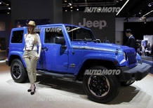 Jeep al Salone di Francoforte 2013
