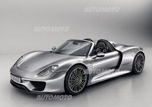 Porsche 918 Spyder: svelata la versione definitiva
