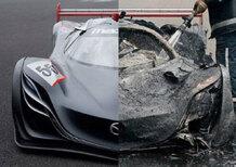Mazda Furai concept: in fiamme l'unico esemplare esistente