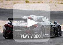 McLaren P1: ecco come suona il motore all'avvio