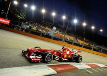 F1 GP Singapore 2013: la crisi tecnica della Ferrari nelle prove libere