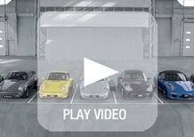 """Porsche 911: le sette generazioni cantano """"Happy Birthday"""" con il motore"""