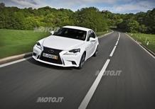 Gargano: «La Lexus IS Hybrid è sportività nel rispetto dei consumi e delle emissioni»