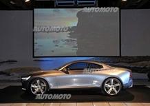 Volvo Concept Coupé: il prototipo che svela il futuro, guardando al passato