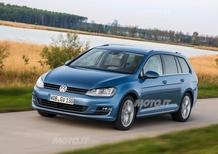 Nuova Volkswagen Golf Variant: listino prezzi