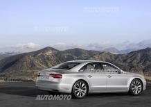 Audi A8 restyling: listino prezzi