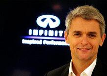 Roux: «Infiniti Q50 inaugura una nuova era. Obiettivo? Competere con i brand tedeschi»