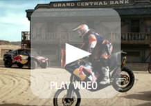 Dakar 2014: i piloti Red Bull protagonisti di un video... Nel Far West!