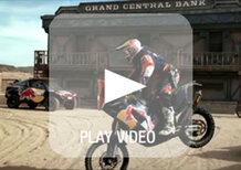 Dakar 2014: i piloti Red Bull protagonisti di un video... Nel Far West!