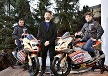 Biaggi presenta il Max Racing Team