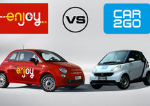 car2go vs Enjoy, car sharing a confronto: quale e come scegliere