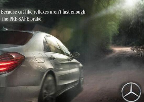 Jaguar vs Mercedes: continua la lotta (simpatica) a colpi di spot