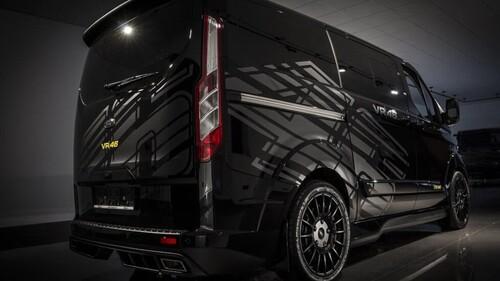 Ford omaggia Valentino Rossi: ecco Transit e Ranger VR|46 Edition (4)