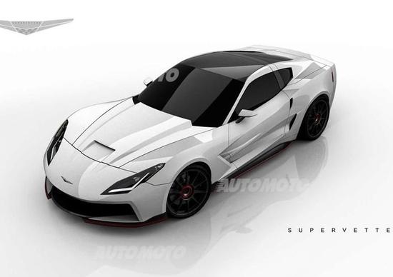 Supervettes SV8.R C7: un nuovo kit aerodinamico dedicato alla Corvette