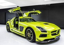 Mercedes-Benz SLS AMG Black Series: l'esemplare dell'AMG Performance Studio