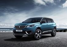 Nuova Peugeot 5008: i prezzi di listino