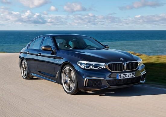 BMW M550i xDrive, quasi M5 ma 4WD