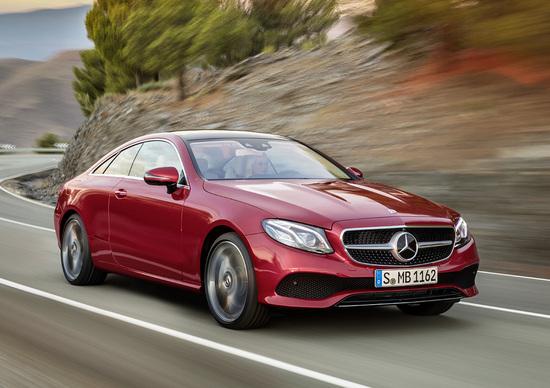 Nuova Mercedes Classe E Coupé: in Germania da 49.000 euro