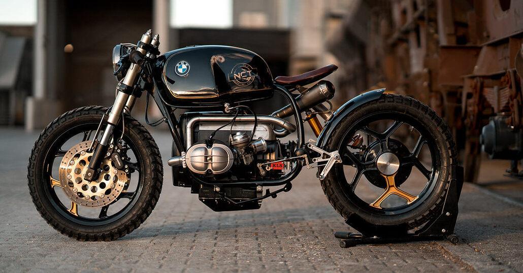 NCT BMW R100 Black Stallion #28