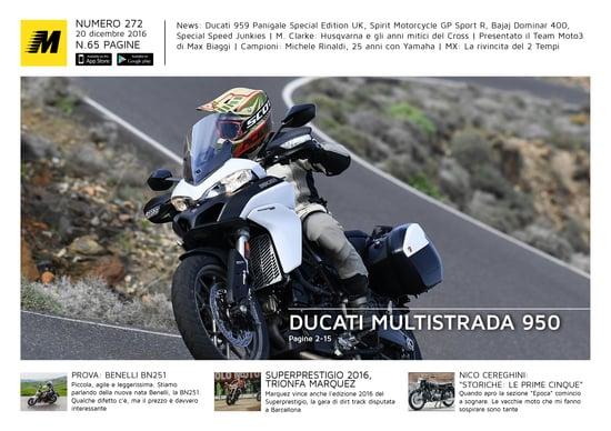 Magazine n°272, scarica e leggi il meglio di Moto.it