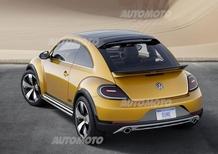 Nuova Volkswagen Beetle Dune concept: tutte le immagini