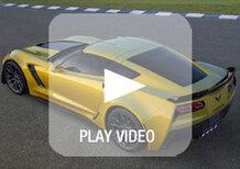 Nuova Corvette Z06: immagini e dati ufficiali