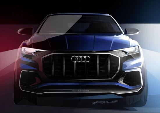 Audi Q8 Concept: debutto a Detroit per l'anti BMW X6 e Mercedes GLE Coupé?